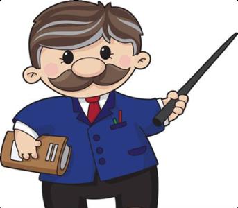 Учитель - Векторный клипарт | Teacher - Stock Vectors